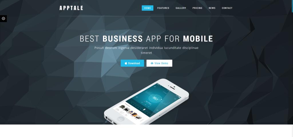 AppTale - Bootstrap App Landing Page